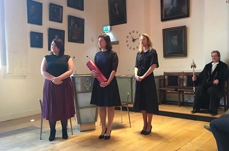 SILS-PhD-defence-Michelle Solleveld