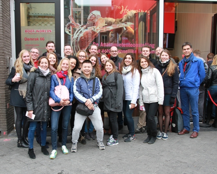 Day out october 2015; visit to Body Worlds