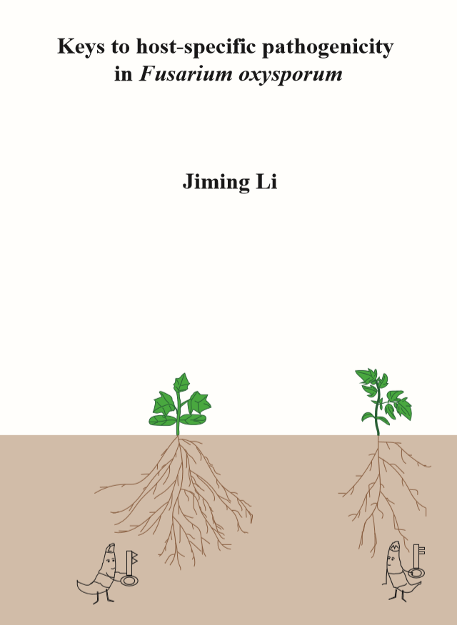 Thesis cover Jiming Li